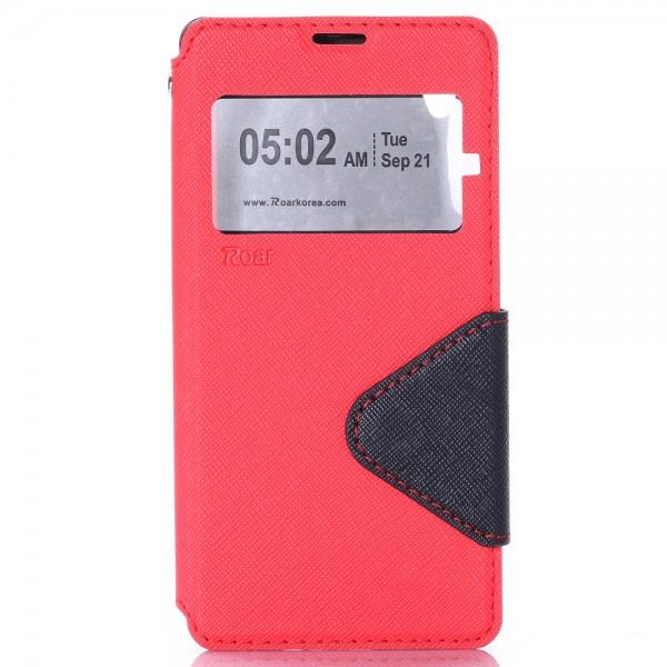 Púzdro na Sony Xperia X Červený s Prackou Knižkový Obal a224047b35b