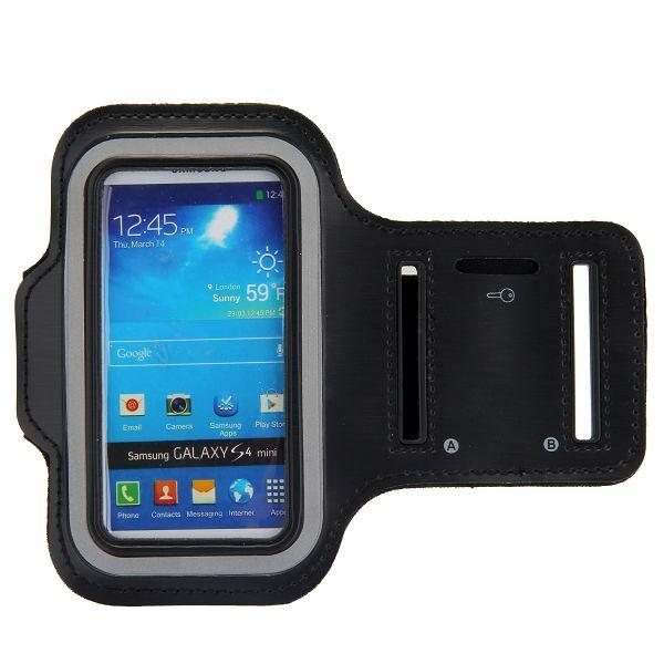 Samsung S4 Mini Šport Púzdro Čierne 2fe70e21da5