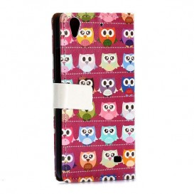 Kryt na Huawei Ascend G620S LITTLE PINKY OWLS