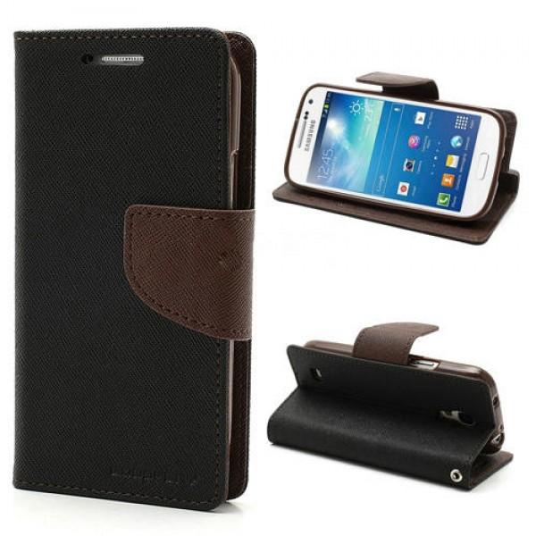 Samsung S4 Mini Obal MERCURY Čierny a022051b028
